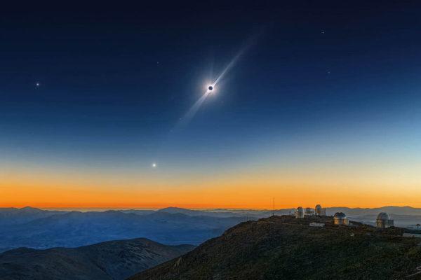 Quantum Dynamics Solar Eclipse